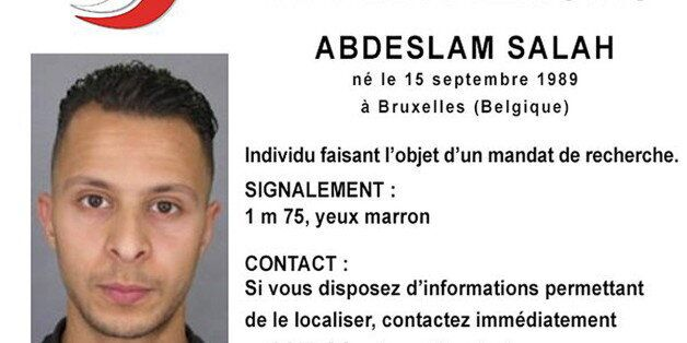 Handout file picture shows Belgian-born Salah Abdeslam on a call for witnesses notice released by the...