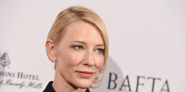 Cate Blanchett arrives at the BAFTA Awards Season Tea Party at the Four Seasons Hotel on Saturday, Jan....