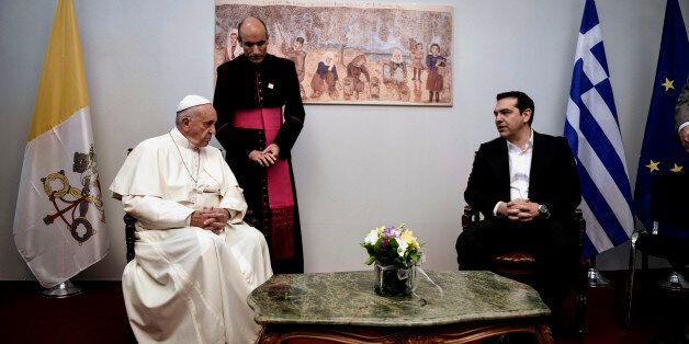 Συνάντηση Πάπα – Τσίπρα στη Λέσβο: Η επίσκεψη σας είναι ιστορική και
