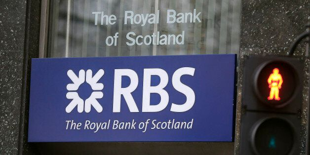 A logo of a branch of the Royal Bank of Scotland in London, Friday, Feb. 26, 2016. Royal Bank of Scotland,...