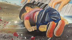 Η προσφυγική κρίση μέσα από τα έργα Σύριων