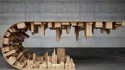 Ένα τσουνάμι κτιρίων μετατρέπεται σε