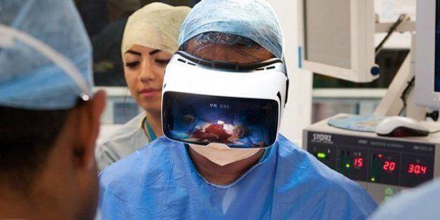 Ζωντανή μετάδοση χειρουργικής επέμβασης σε περιβάλλον εικονικής