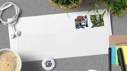 Μια συλλογή γραμματοσήμων που απεικονίζει την όμορφη πλευρά της