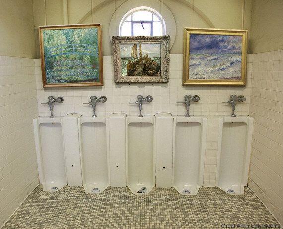 Δύο τύποι στην Αμερική βάζουν υπέροχα έργα τέχνης μέσα σε άσχημα δωμάτια και ο κόσμος το