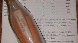 Γερμανίδα βρήκε το παλαιότερο μήνυμα σε μπουκάλι μετά από 108 χρόνια και πήρε