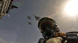 Οι φωτογραφίες από την πτήση που αναστάτωσε την Αθήνα: Ελληνικά F-16 και αμερικανικά F-15 στους ουρανούς της