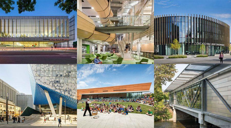 7 φανταστικές δημόσιες βιβλιοθήκες που δείχνουν το
