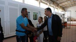 Στο Hot Spot της Χίου ο Θεοδωράκης: Η κοινωνία της Χίου έχει κάνει ό,τι μπορούσε. Οι υπουργοί να λάβουν τις αποφάσεις