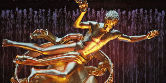 Prometheus Statue at Rockefeller Center in New York