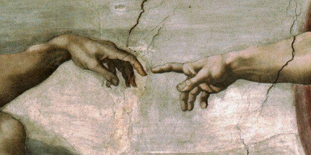 Creation of Adam (Detail) 1512 Michelangelo Buonarroti (1475-1564/Italian) Fresco Sistine Chapel,