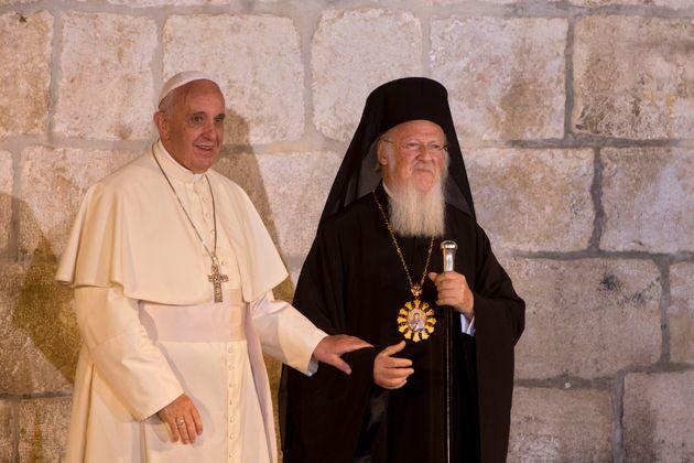 Το πρόγραμμα Πάπα Φραγκίσκου, Οικουμενικού Πατριάρχη και Αρχιεπισκόπου στη Λέσβο. Στο νησί και ο