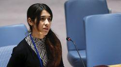 Συνάντηση Τσίπρα με την ακτιβίστρια Νάντια Μουράντ Μπαζί, την Γεζίντι που είχε απαχθεί από δυνάμεις του