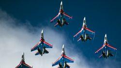 Τα 25 χρόνια των «Ρώσων Ιπποτών»: Εντυπωσιακές εικόνες από την καριέρα του ρωσικού σμήνους