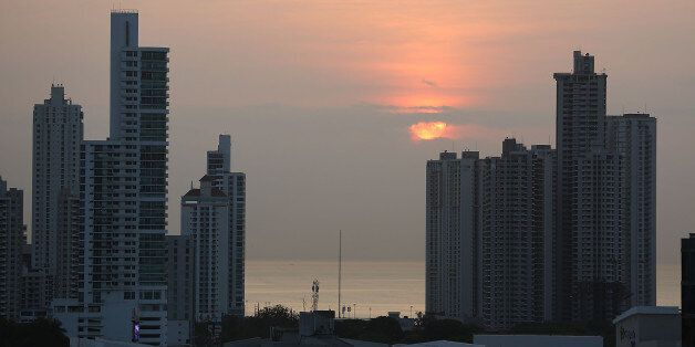 PANAMA CITY, PANAMA - APRIL 07: Part of the Panama City skyline is seen as revelations about the law...