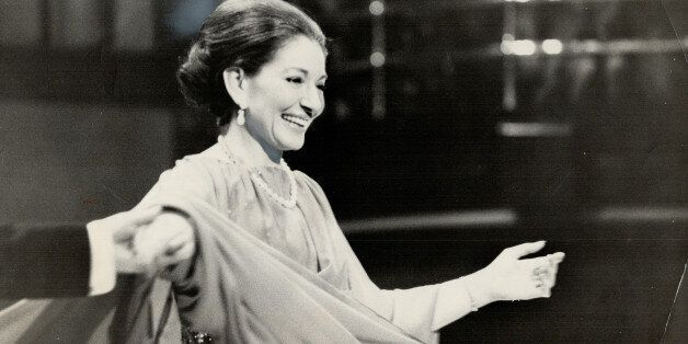 CANADA - FEBRUARY 21: Maria Callas. Wanted to have children (Photo by Doug Griffin/Toronto Star via Getty