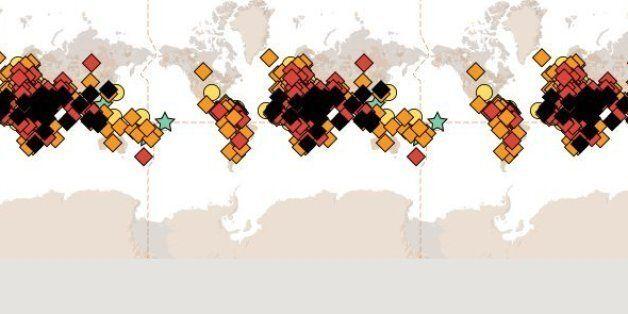 Ο χάρτης με τις χώρες όπου η αποκήρυξη της θρησκείας τιμωρείται με