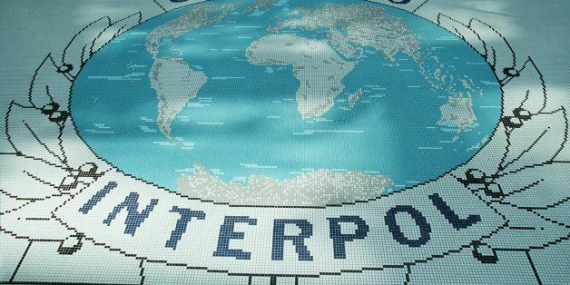 FRANCE - MARCH 16: Interpol offices In Lyon, France On March 16, 2000. (Photo by Alexis ORAND/Gamma-Rapho...