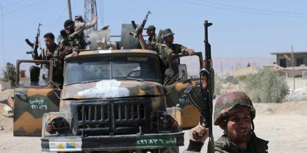 Σύριοι στρατιώτες στο αλ