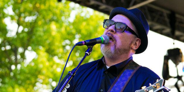 STERLING HEIGHTS, MI - JUNE 30: Everlast performs during the Stars and Stripes Festival at the Freedom...