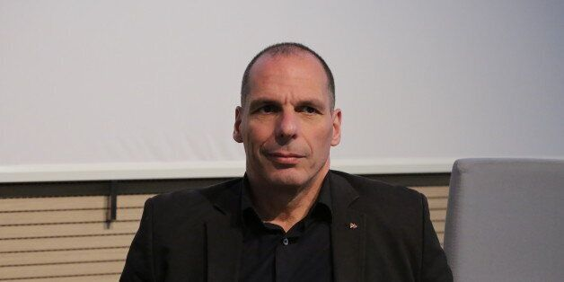 TURIN, ITALY - 2016/03/17: The well known former Greek Finance Minister Yanis Varoufakis appointed Professor...