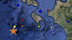 Σεισμός 5,3 Ρίχτερ ανοιχτά της