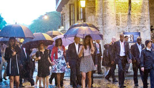 Η ιστορική βόλτα του Ομπάμα στην Αβάνα και οι συναντήσεις