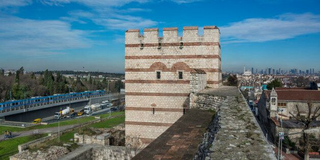 The Walls of Istanbul are a series of stone walls that have surrounded and protected the city of Constantinople...