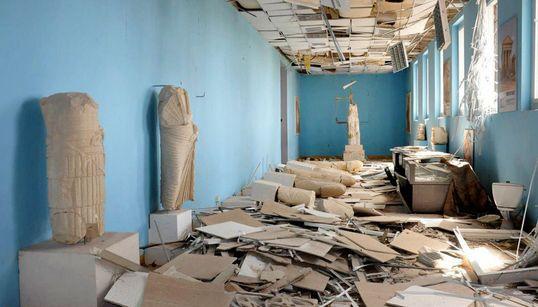 Πέντε χρόνια θα χρειαστούν για την αποκατάσταση της Παλμύρας. Μεγάλο το μέγεθος της