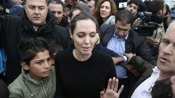 Η Angelina Jolie στη Μυτιλήνη: «Δεν ελπίζω ότι θα τελειώσει σύντομα το δράμα των