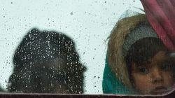 Ένταση στα Ιωάννινα. Κάτοικοι εμποδίζουν την άφιξη λεωφορείων που μεταφέρουν