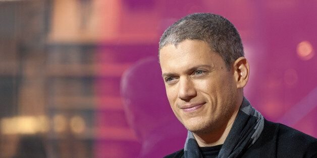 NEW YORK, NY - JANUARY 21: Wentworth Miller visits 'Extra' at their New York studios at H&M in Times...