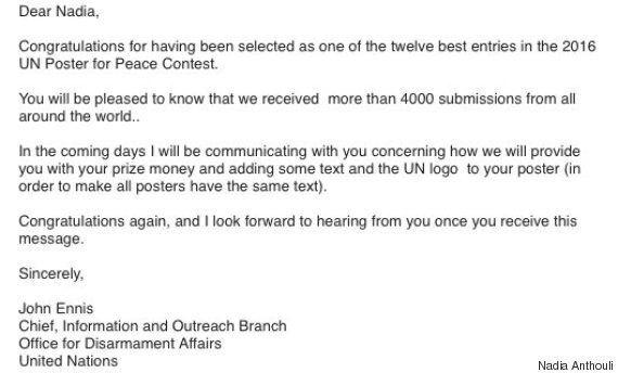 Φοιτήτρια του Πολυτεχνείου Κρήτης διακρίθηκε σε διαγωνισμό των Ηνωμένων Εθνών για την εξάλειψη των πυρηνικών