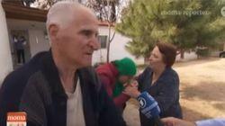 Ηλικιωμένο ζευγάρι στην Ειδομένη άνοιξε το σπίτι του στους πρόσφυγες. «Δεν κάνουμε