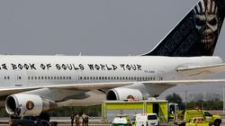 Fear of the crash!Το ιδιόκτητο Boeing 747 των Iron Maiden τράκαρε με