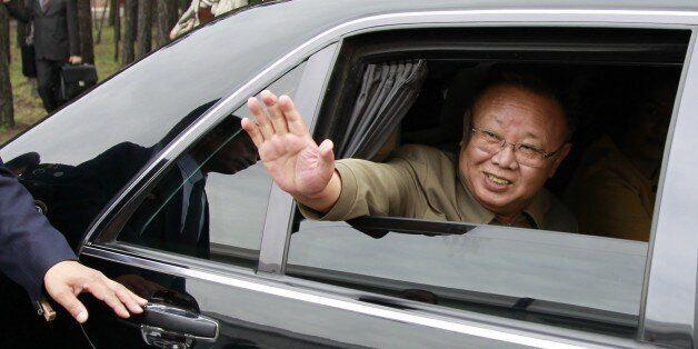 Ulan-ude, russia, august 24, 2011, kim jong-il (kim jong il), the leader of the democratic people's republic...
