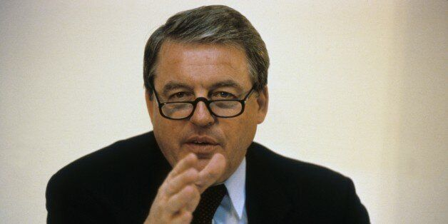 (GERMANY OUT) Franz Vranitzky *04.10.1937-, Politiker, SPÖ, Österreich, Bundeskanzler 1986 - 1997,...