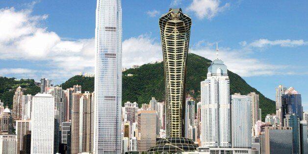 Ένας Ρώσος σχεδιαστής φαντάστηκε έναν ουρανοξύστη