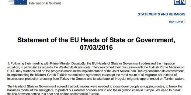 Τα 6 σημεία στα οποία συμφώνησαν να εργαστούν από κοινού ΕΕ – Τουρκία πριν την επόμενη