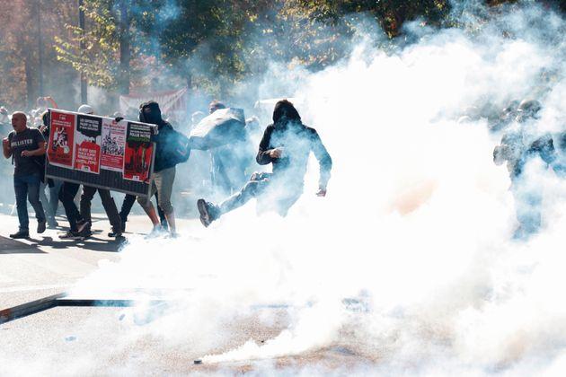 """La Marche pour le climat à Paris infiltrée par des """"black blocs"""""""