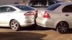 Ρεκόρ τρακαρίσματος στο παρκάρισμα από μεθυσμένη Ρωσίδα οδηγό: Χτύπησε 17