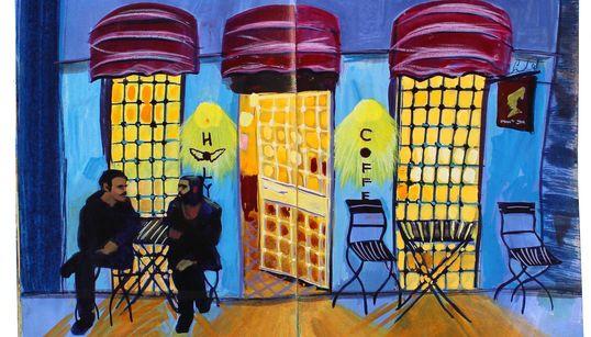 Η Missy Dunaway γυρνάει τον κόσμο ζωγραφίζοντας τα ταξίδια της σε ένα