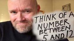 Διαδικτυακό «μέντιουμ»: Ο άνδρας που μπορεί να βρει τον αριθμό που σκέφτεστε μέσα από το