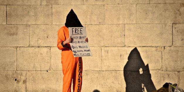 A protest against Guantanamo