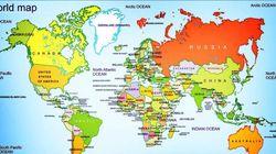 Ο χάρτης που δείχνει όλες τις μάχες που έλαβαν χώρα τα τελευταία 4.000