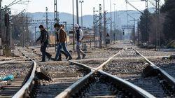 Ειδομένη: Κατάληψη της σιδηροδρομικής γραμμής από ομάδα Αφγανών. Διαμαρτύρονται για την απαγόρευση