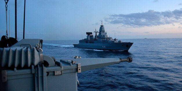 20151024_DEU_SR_8MEDITERRANEAN SEA -- While participating in NATO's Exercise TRIDENT JUNCTURE 2015, the...