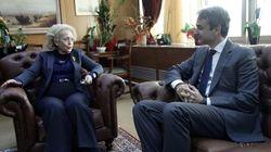 Επίσκεψη Μητσοτάκη στον Άρειο Πάγο. Συναντήσεις με Βασιλική Θάνου και Ευτέρπη