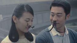 Έβγαλαν μουστάκια από τη μύτη τους οι Κινέζοι λόγω ατμοσφαιρικής ρύπανσης, σ΄ένα όχι και τόσο χιουμοριστικό