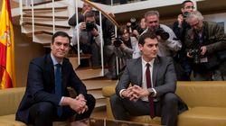 Κοντά σε προγραμματική συμφωνία Σοσιαλιστές και Ciudadanos...αλλά στερούνται της πλειοψηφίας στη